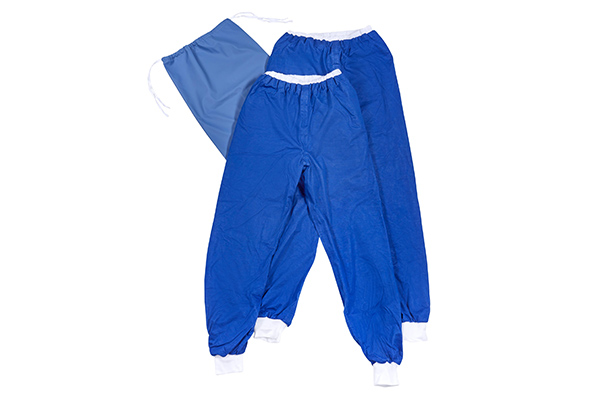 Pjama bedwetting pants starter kit including two Pjama pants, waterproof Pjama bag, washable, incontinence aid
